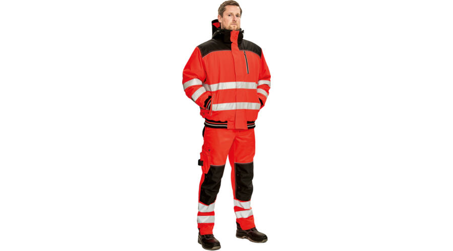 KNOXFIELD HI-VIS WINTER PILOT JACKET